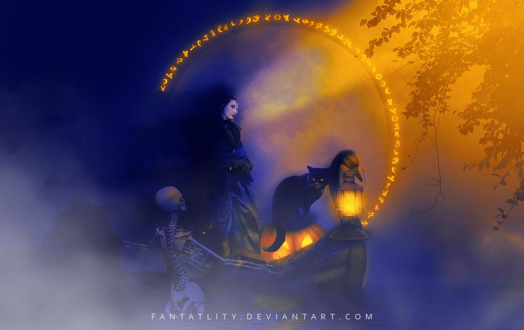 A New Light On Halloween Night by fantatlity