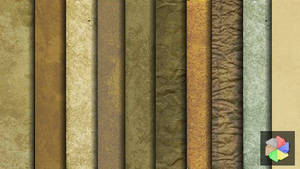 Free old paper textures.