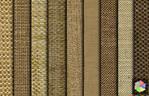 Plain fabric textures.