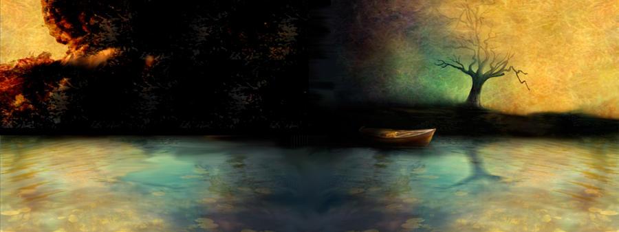 dual wallpaper. Autumns Dual Wallpaper by