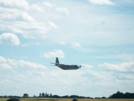 KC 130 Landing
