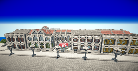 Alexandria - Lower Mainstreet by MagDragonWolf