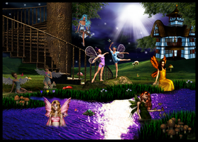 fairies night out
