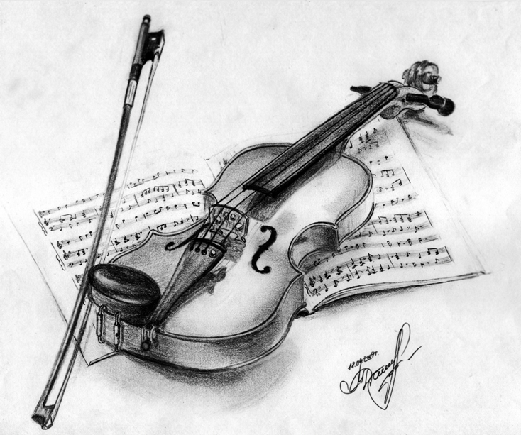 violin by FunnyTora on deviantART