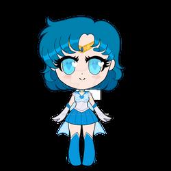 Chibi Sailor Mercury Super Form