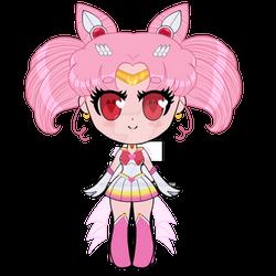 Chibi Sailor Chibi Moon Super Form