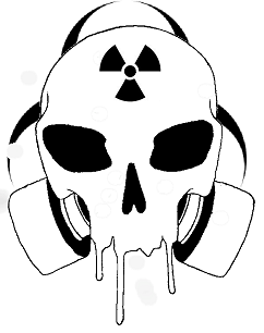 Cool Drawings of Skulls with Gas Mask