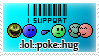 :lol::poke::hug: Stamp