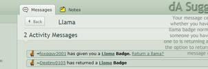 dA Suggestion - Llama Messages