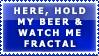 Beer Stamp for Fractal Designe by bandit4edu