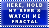 Beer Stamp for Fractal Designe by bandit4edu