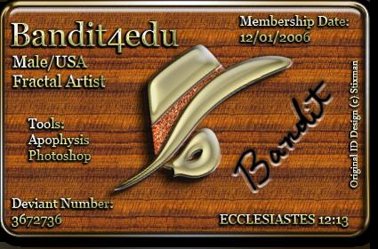 bandit4edu's Profile Picture
