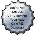 Pez Bottlecap by bandit4edu