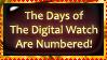 Digital Numbers Stamp by bandit4edu