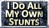 Stunts Stamp