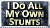 Stunts Stamp by bandit4edu