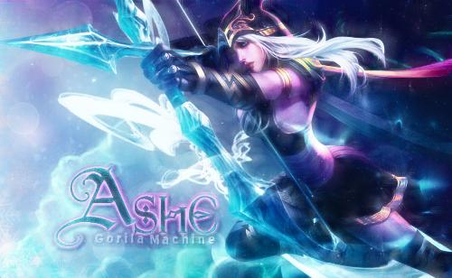 Ashe LOL [TAG] by Moraes23