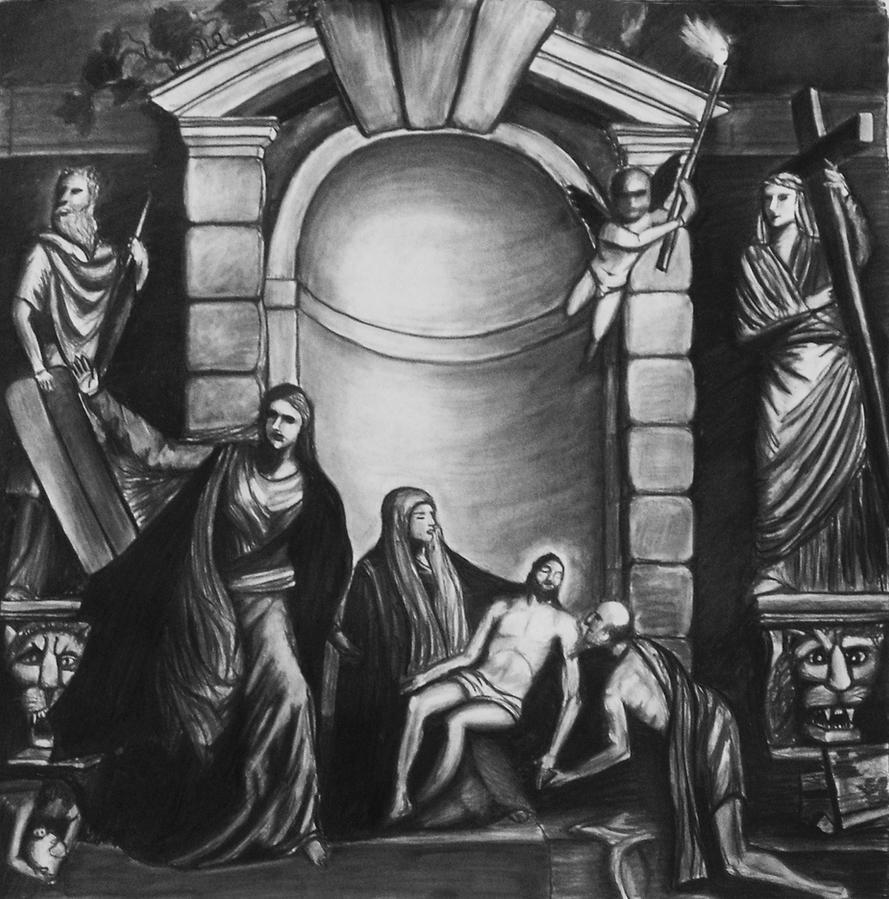 Pieta by Elva-Luthien