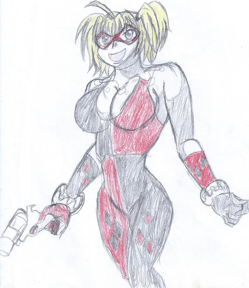 Harley Quinn by Robin250