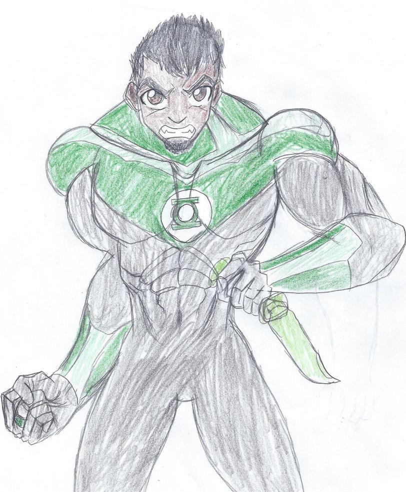 Green Lantern - John Stewart by Robin250
