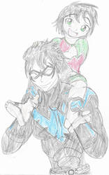 Nightwing - Father and Son by Robin250