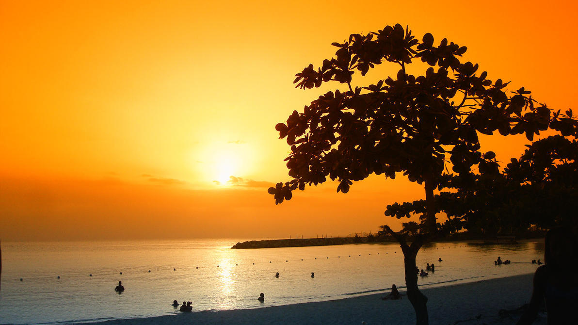 Golden Jamaican Sunset by Neodre