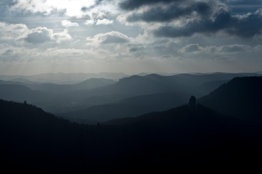 Trifels Landscape Dark by Rhyonoceros on DeviantArt