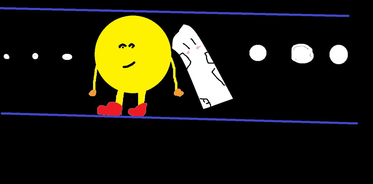 Pacman and Sandbag by MegaSharpedo