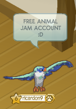 FREE ANIMAL JAM ACCOUNT by amazingjammer on DeviantArt