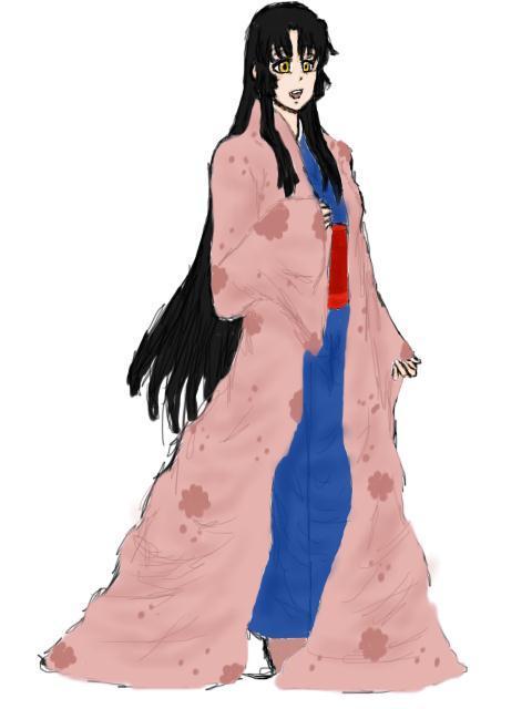 Inuyasha's Sister: Kimiko by AbominalSnowDemon