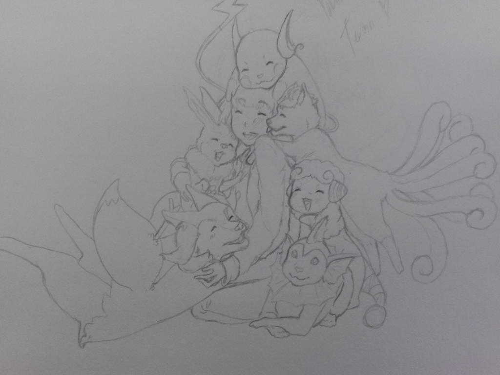 Pokemon X and Y Team by AbominalSnowDemon