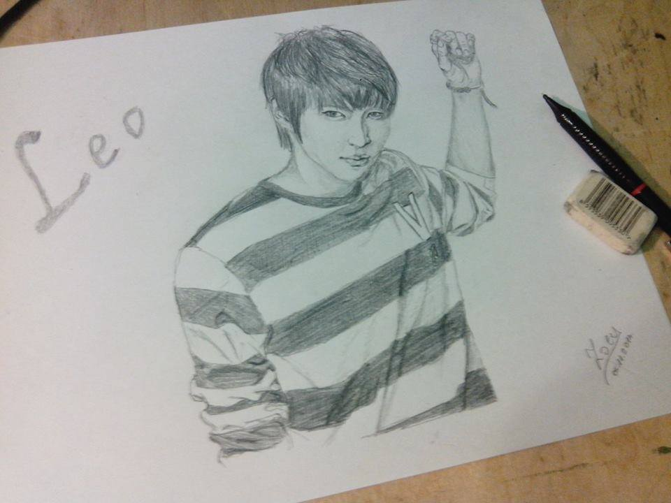 Jung Taek Woon / Leo (VIXX) by Citrozoey