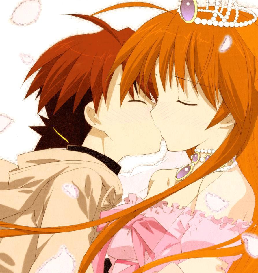A NegiAsu Kiss by junolastimosa