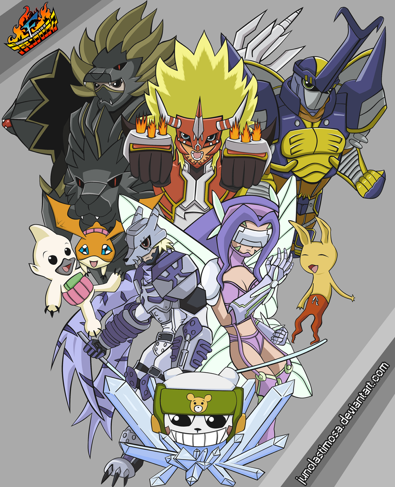 Digimon Wallpaper: Digimon Frontier: My REAL Submission By Junolastimosa On