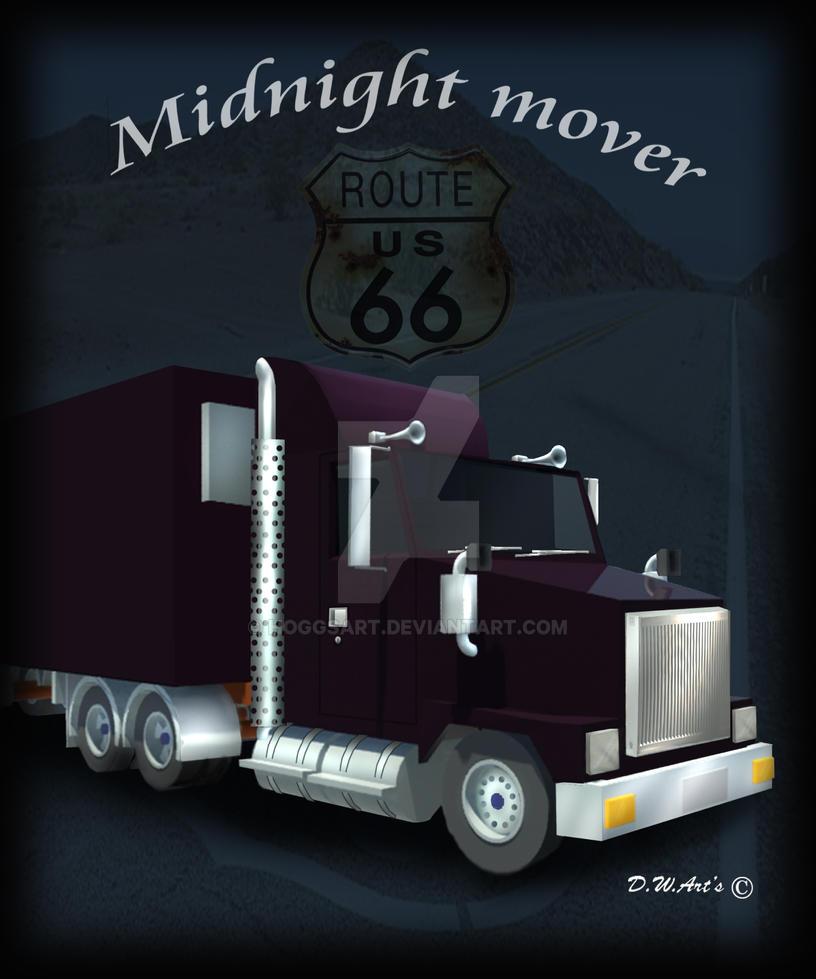 Midnight mover by hoggsart
