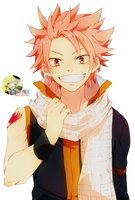 Natsu Dragneel - FAIRY TAIL Render #39 by StarrySkyTrench