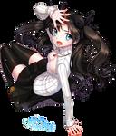 Tohsaka Rin - Render #96