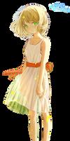Flower Girl  -  Render #145 by StarrySkyTrench