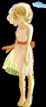Flower Girl  -  Render #145