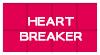 Stamp : Heart Breaker ( 1 ) by StarrySkyTrench