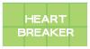 Stamp : Heart Breaker ( 4 ) by StarrySkyTrench