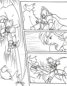 Legend of the Gryphon's Claw Sample Page 01