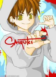 Saiyuki: graffiti by Casmailee