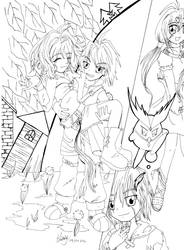 Original: My Fantasy - LineArt by Casmailee
