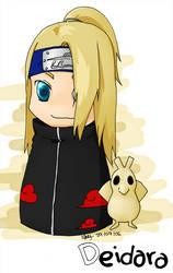 Naruto: Deidara by Casmailee