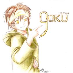 Saiyuki: Son Goku by Casmailee