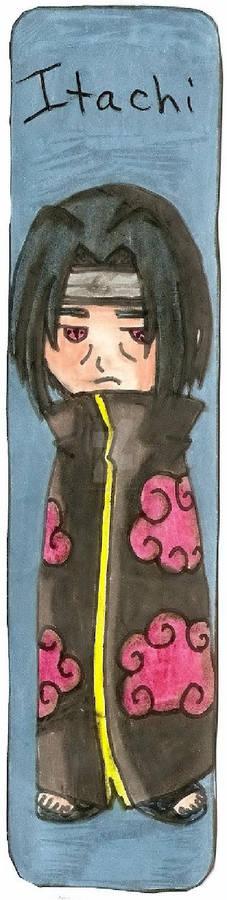 Naruto Itachi Bookmark