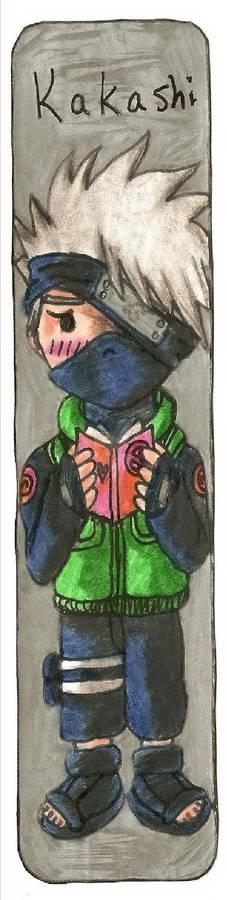 Naruto Kakashi Bookmark