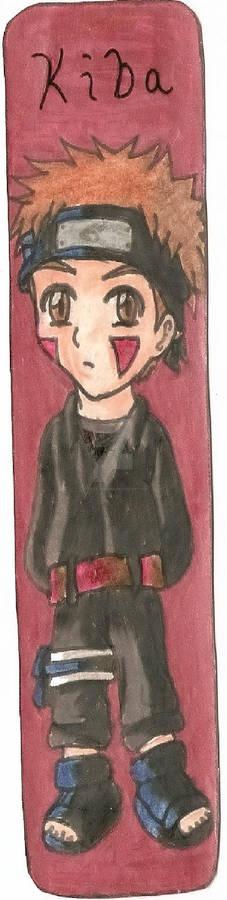 Naruto Kiba Bookmark