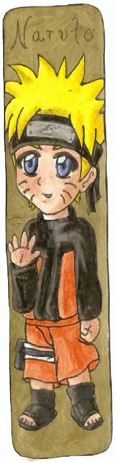 Naruto Naruto Bookmark